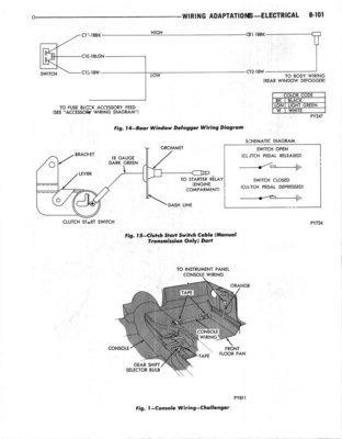 Astounding 1970 Challenger Wiring Diagrams The Dodge Challenger Message Board Wiring Digital Resources Millslowmaporg